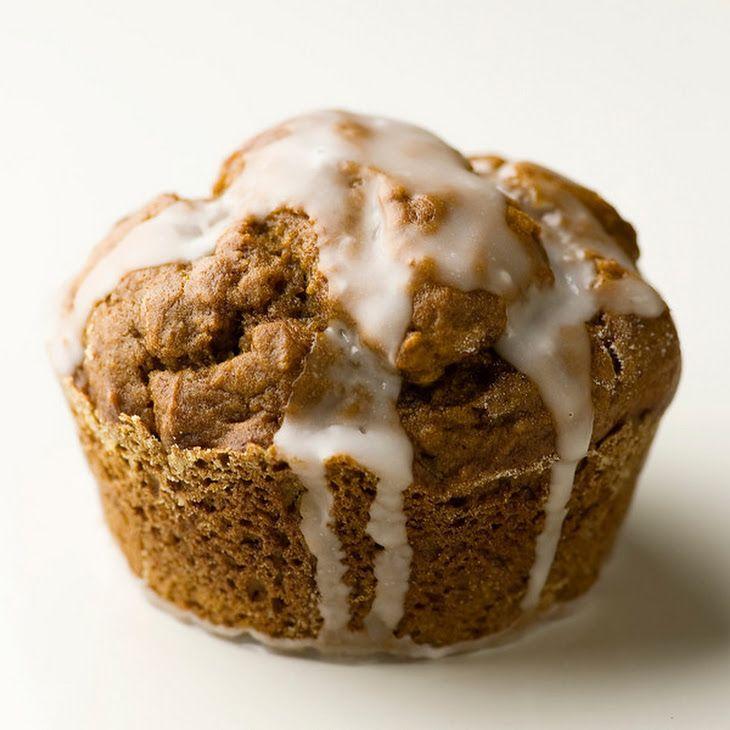 Glazed Gingerbread Muffins | Indulge | Pinterest