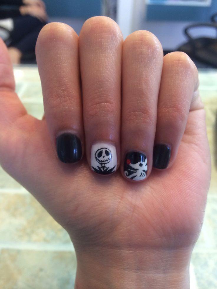 Nice Nightmare Before Christmas Nail Art Ideas - Nail Art Ideas ...