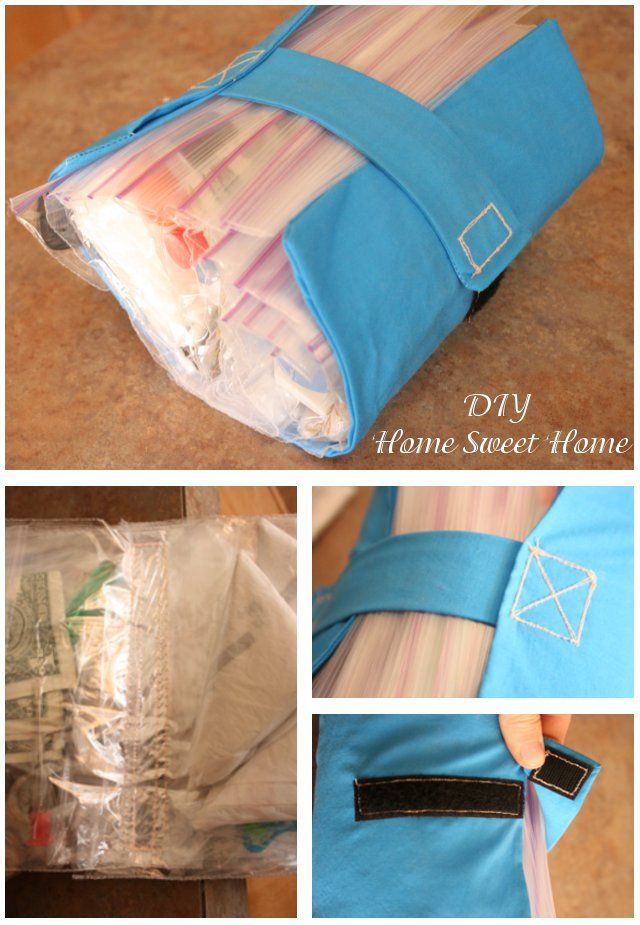 """travel pouch with all the """"just-in-cases"""""""