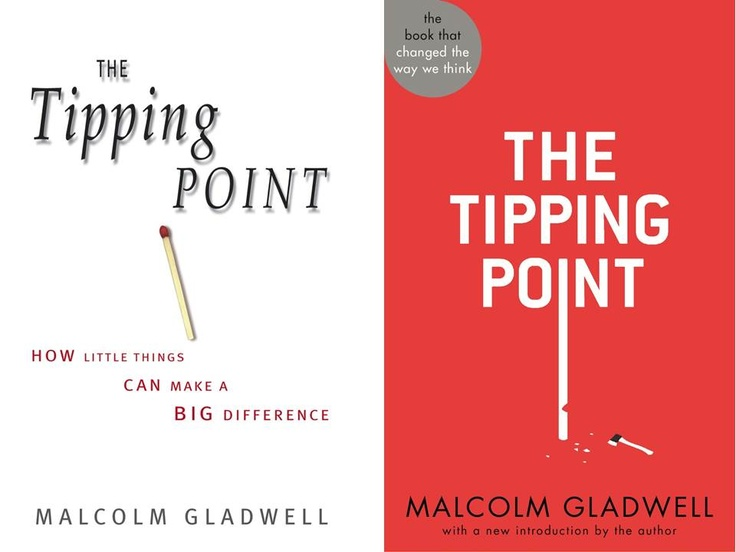 an overview of the book the tipping point by malcolm gladwell Malcolm gladwell is out with a new book, david and goliath, and, as with   tipping point — the title of gladwell's first best-seller — means.
