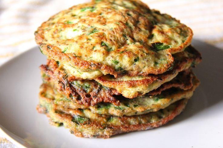 Savory Spinach Pancakes | Pancakes & Waffles | Pinterest