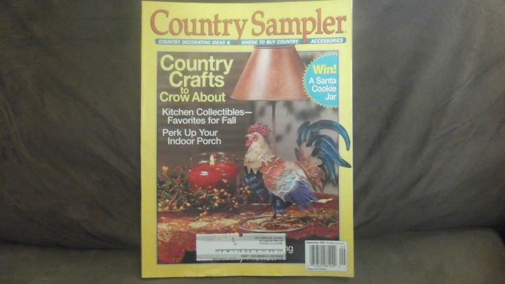 Australian Country Crafts Decorating Magazine