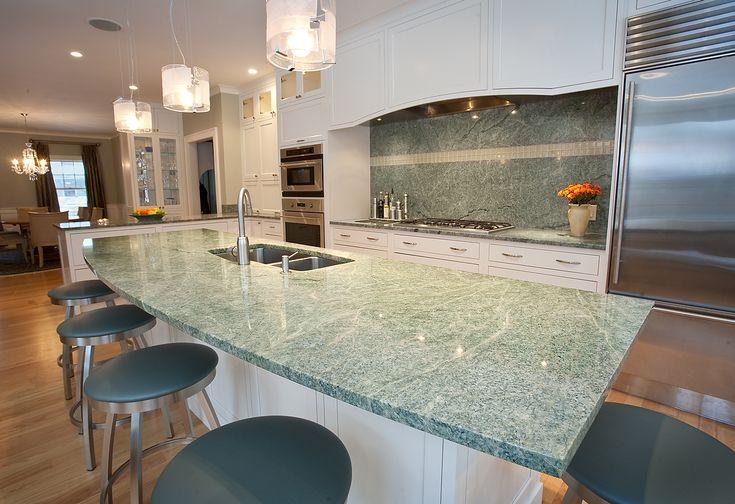 Costa Esmeralda Granite And Pencil Edge Kitchen Project