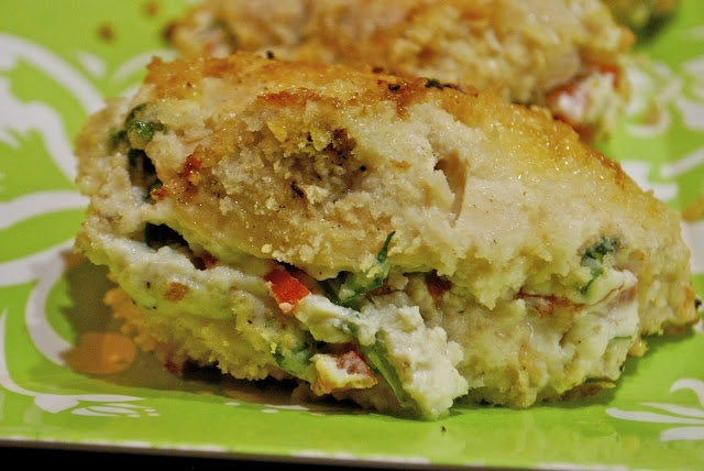 Ricotta, Roma, & Spinach Stuffed Chicken | Power Foods | Pinterest