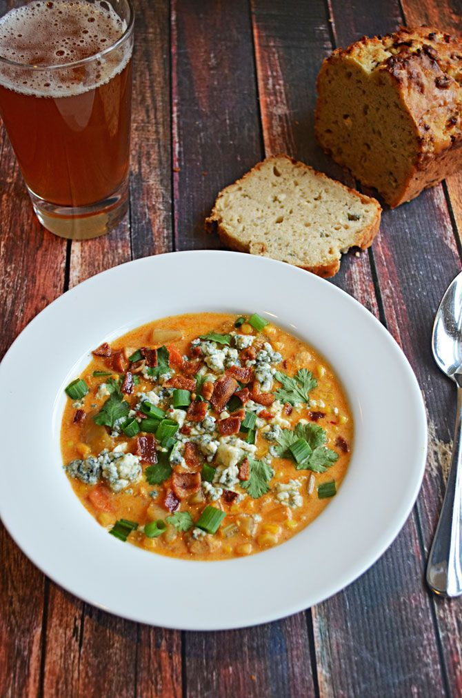 Buffalo Chicken Corn Chowder   Country Cooking   Pinterest