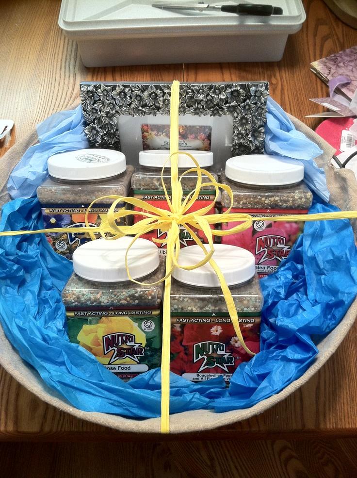 Garden Centre Wedding Gift List : and Garden wedding shower idea. Cute fertilizer jars and a framed gift ...