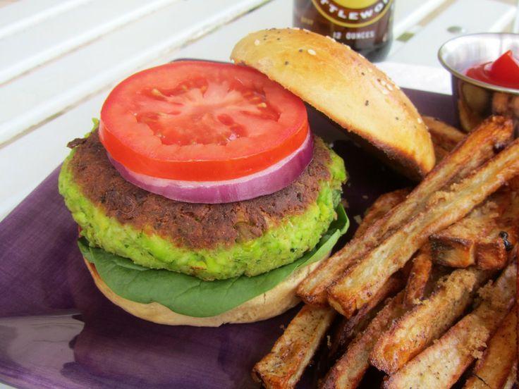 Edamame Burger Recipe — Dishmaps