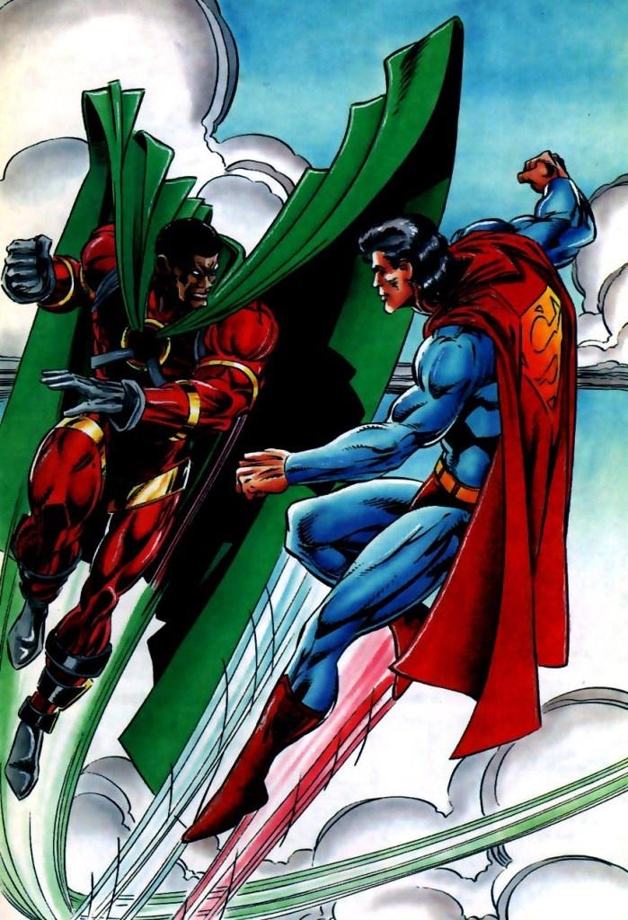 Icon vs Superman | Comics [DC] | Pinterest