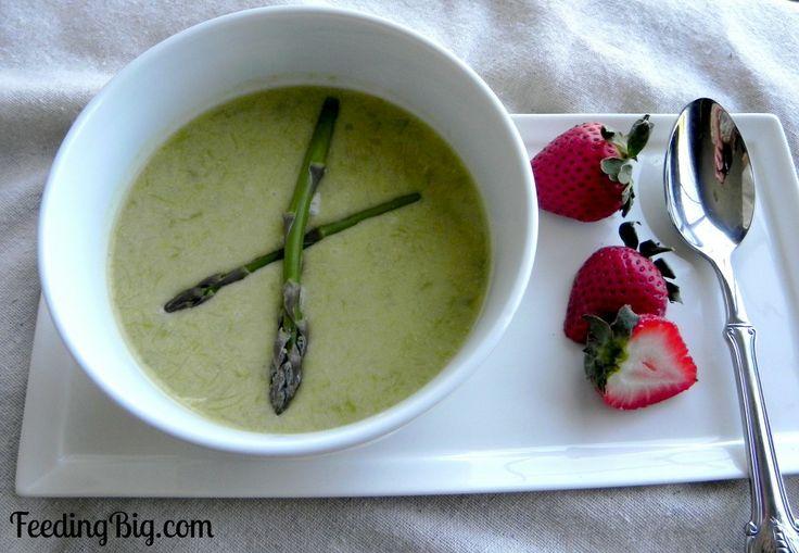 Cream of Asparagus Soup by @Cynthia Landrie #asparagus #springveggies ...