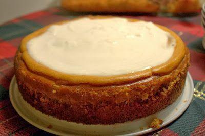 Bourbon pumpkin cheesecake. | Sun and Sea | Pinterest
