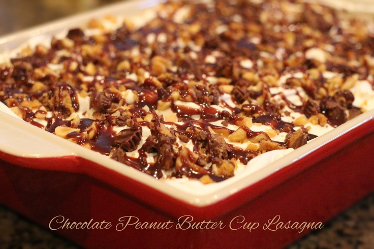 Melissa S Southern Style Kitchen Chocolate Peanut Butter Cup Lasagna