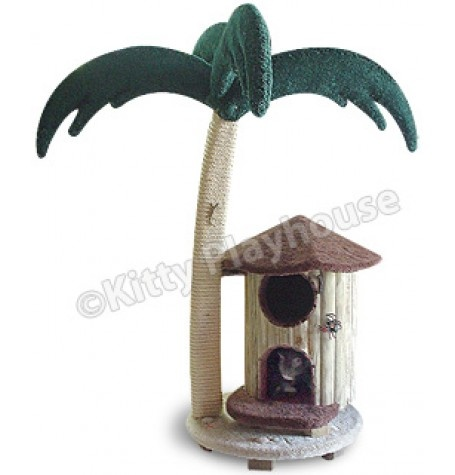 Fun cat tree and scratching post for Interesting cat trees