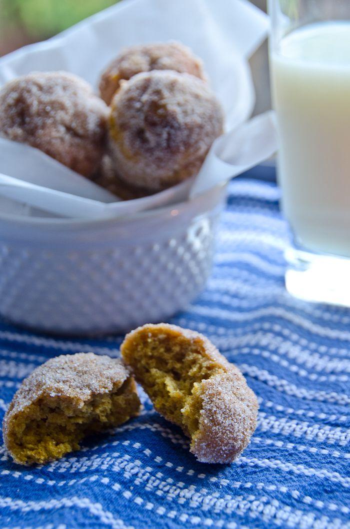 Pumpkin Spice Doughnuts | autumn. | Pinterest