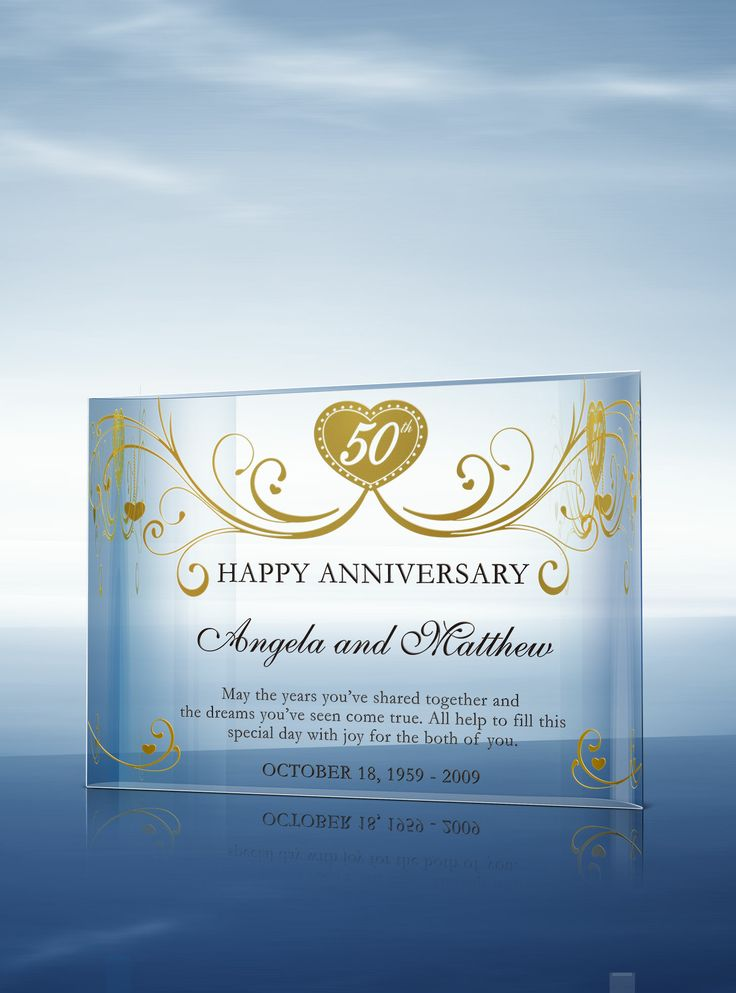 50th Wedding Anniversary Gifts Diy : Pin by DiyAwards.com on Gift ideas for your wife! Pinterest