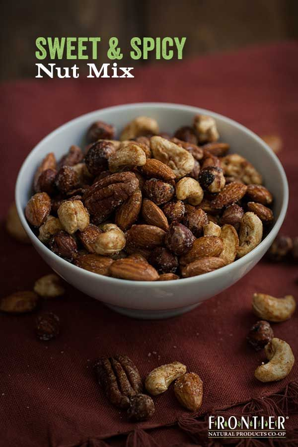 appetites satisfied with holiday snacks like this Sweet and Spicy Nut ...