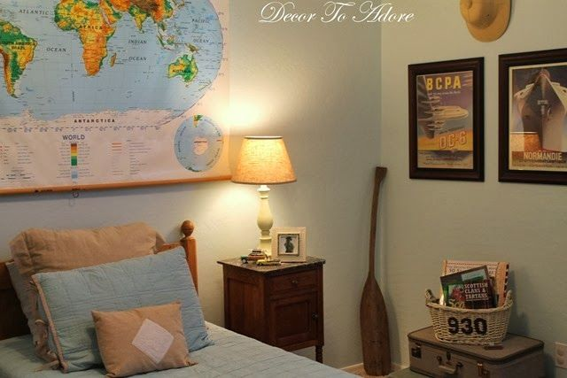 vintage travel themed bedroom now we have a house pinterest