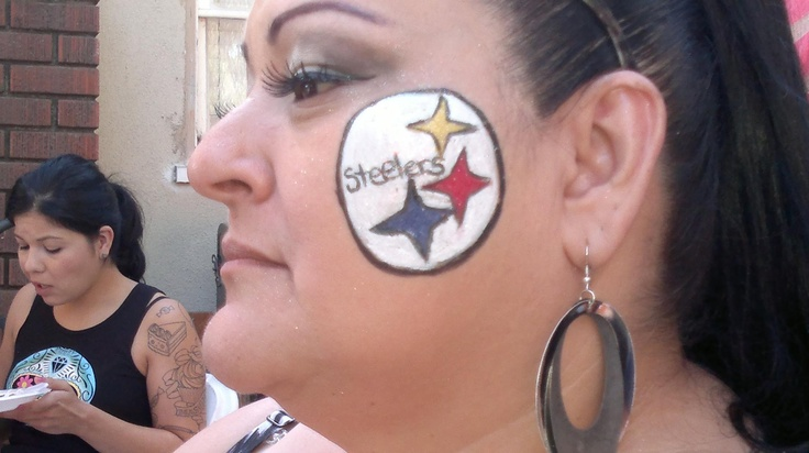 Nfl Football Paintings Football Game Face Paint Ideas