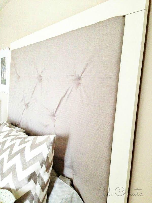 Diy Tufted Headboard By U Create Home Decor Ideas