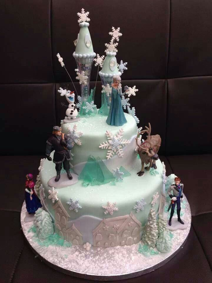 Frozen Cake Design Pinterest : Frozen cake Birthday party ideas Pinterest