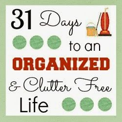 31 Days To An Organized & Clutter Free Life