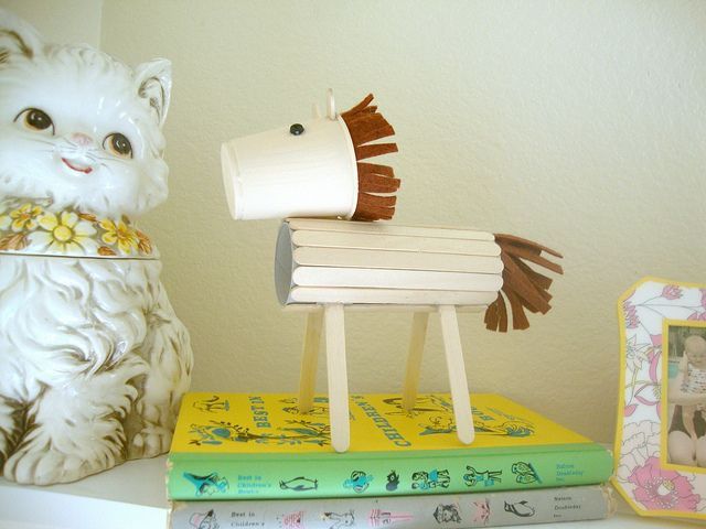Popsicle Stick Horse Craft