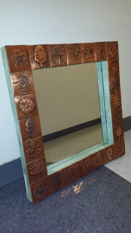 Huis Muur Antique Mirror Tiles Houston Tx