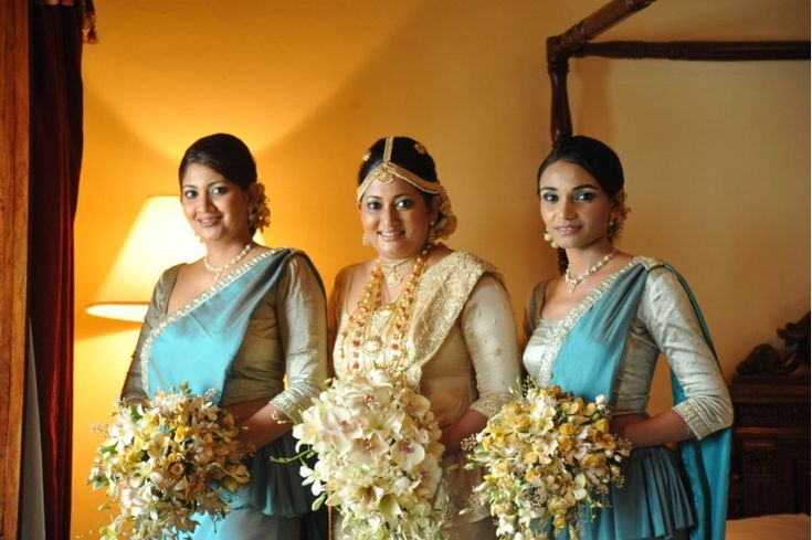 Pin By My Sri Lankan Wedding On Bridal Party