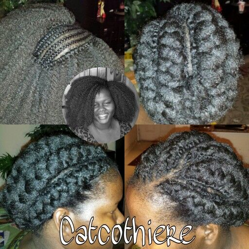 Grey Crochet Hair Styles : Crochet Braids... Natural Hair Pinterest