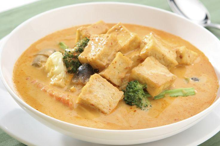 Tofu Red Thai Curry | Vegetarian | Pinterest