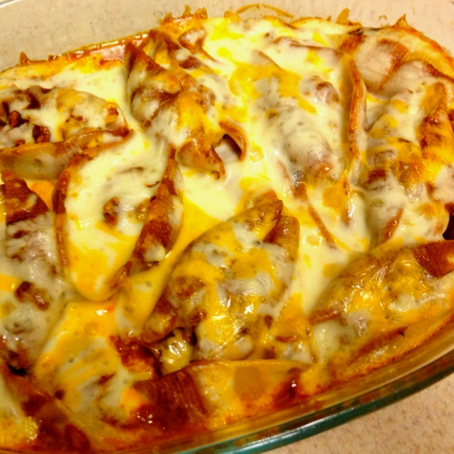 Homemade taco stuffed shells! Nom | Nom Nom: Meats | Pinterest