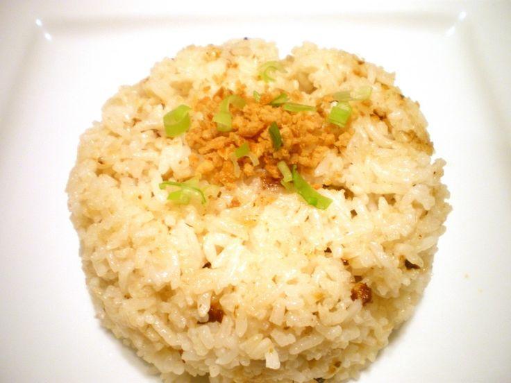 Filipino garlic fried rice. Just like mom makes. Easy peasy.