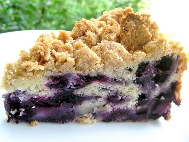 Blueberry Buckle- I'll have to make this for Micky and Perry
