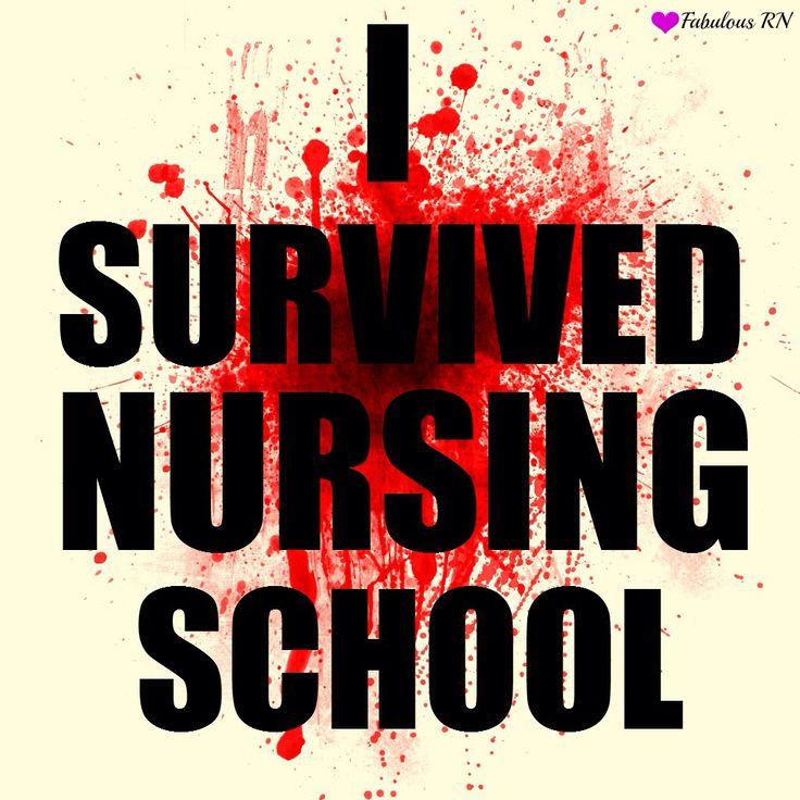 I survived nursing school!! :D