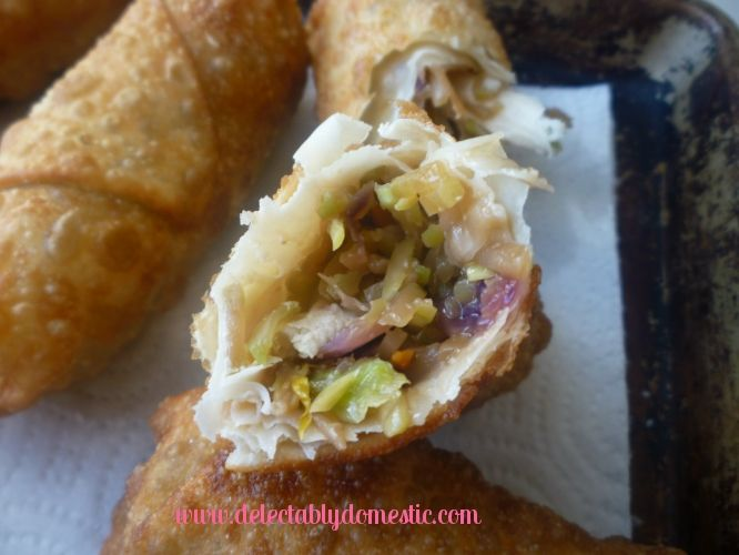 Vegetable Egg Rolls | Food II | Pinterest