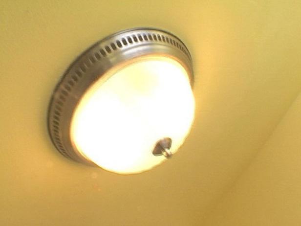 bathroom fan vent and light installation. Black Bedroom Furniture Sets. Home Design Ideas
