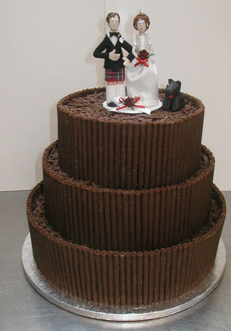 Chocolate Wedding Cakes - Wedding Photo Ideas - http://www.weddingspow ...