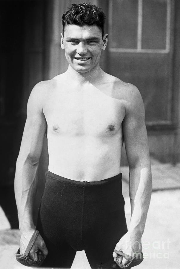 Jack Dempsey (1895-1983) Photograph - Jack Dempsey (1895-1983) Fine ...