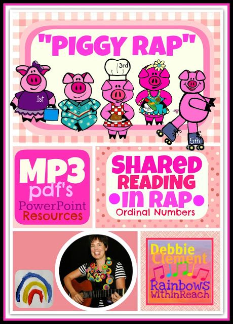 """""""Piggy Rap"""" Goes Digital Download (Shared Reading in Rap) at RainbowsWithinReach"""