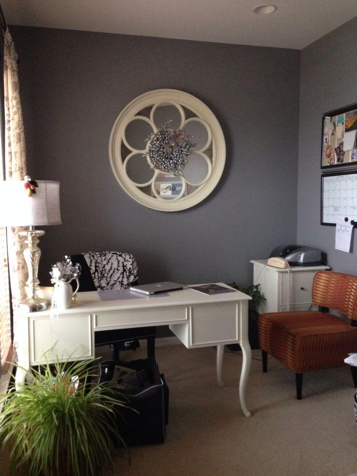 shabby chic office en mi casa pinterest. Black Bedroom Furniture Sets. Home Design Ideas