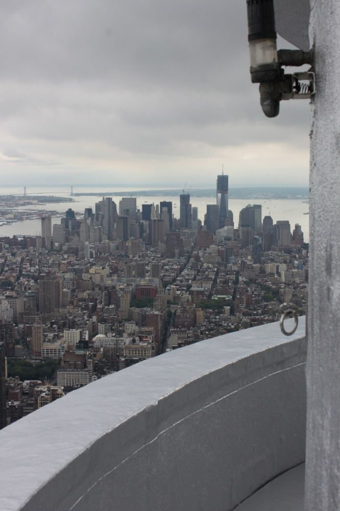 Photos views from the empire state building 39 s secret for 103rd floor empire state building