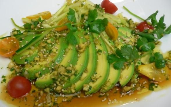Avocado Sashimi w/ Soy Vinaigrette!! | Food & Drinks! | Pinterest