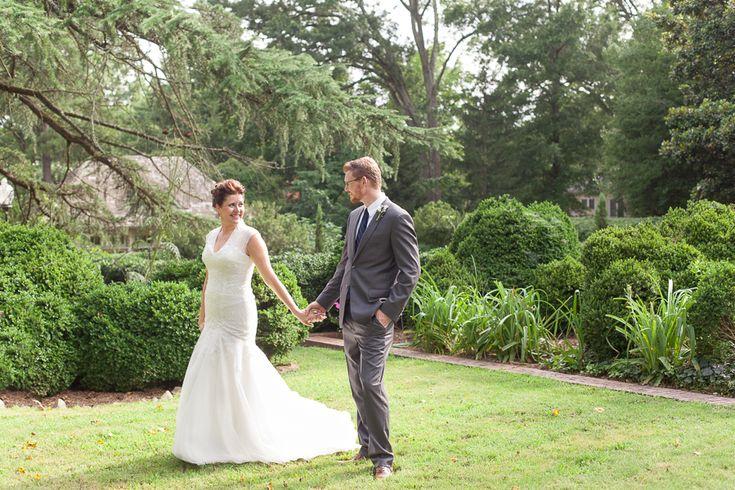 Wedding Bride And Groom Posing