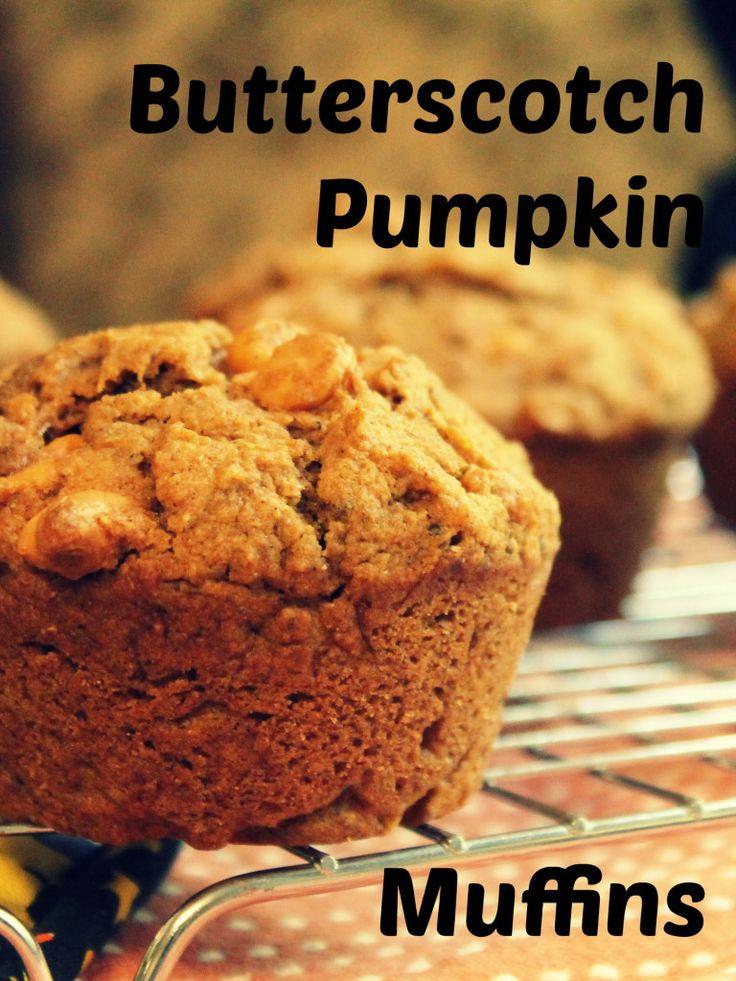 Butterscotch Pumpkin Muffins | . breads & muffins . | Pinterest
