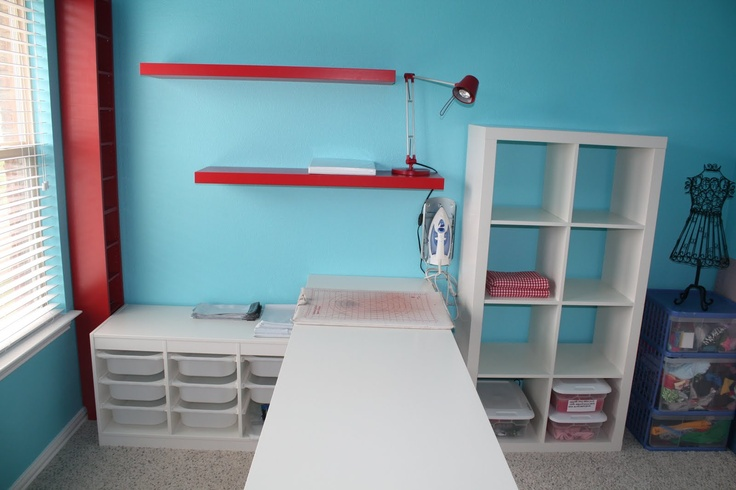 Sewing Room Storage Ideas For The Home Pinterest