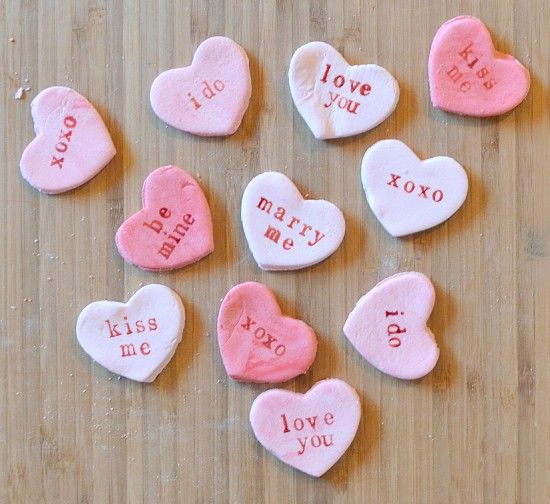 YES! DIY Conversation Candy Heart Tutorial | uses icing sugar ...
