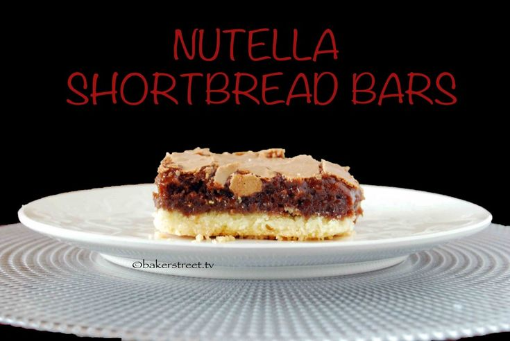 shortbread bars