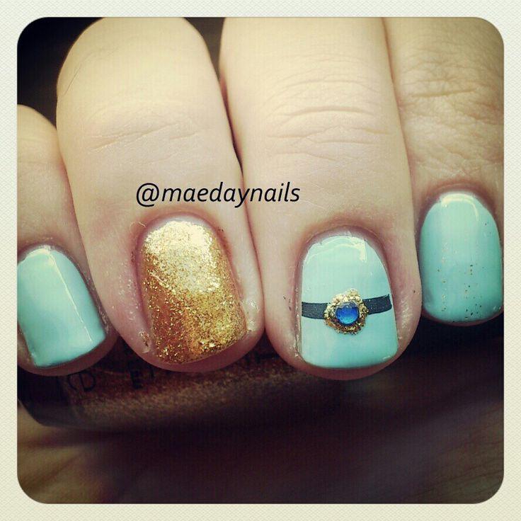 Princess Jasmine Nails: Princess Jasmine Disney Nail Art