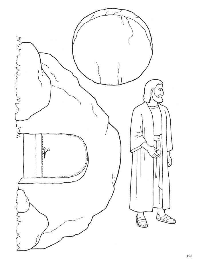 Jesus Is Alive Clipart