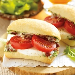 Kicked up Mini Caprese Sandwiches | Sandwiches, Burgers & Wraps | Pin ...