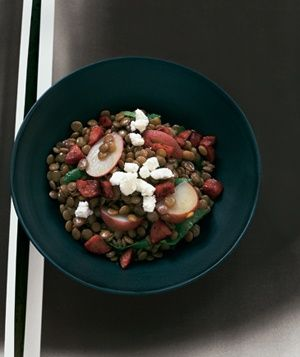 Lentil Stew With Sausage and Potatoes Substitute Ground Lamb for ...